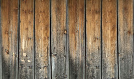 Ancient weathered wooden planks Stock Image