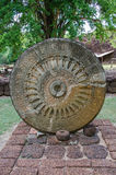 Ancient wheel of dhamma Stock Photography