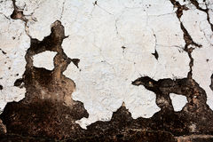 Ancient white clay wall stock photography
