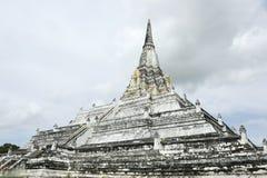 Ancient white pagoda Stock Photo