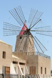 Ancient wind mill Royalty Free Stock Images