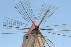 Ancient wind mill Royalty Free Stock Image