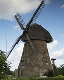 Ancient wind mill Royalty Free Stock Photography