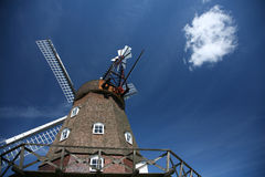 Ancient wind mills Stock Images