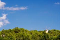 Ancient windmill, Ibiza Royalty Free Stock Photo