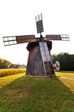 Ancient windmill replica Stock Images