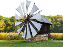 Ancient windmill replica Stock Photos