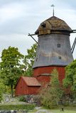 Windmill Stockholm, Sweden Royalty Free Stock Photography