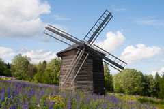 Ancient windmill Stock Photography