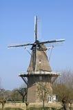 Ancient windmill, village Welsum, Netherlands Stock Image