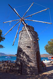 Ancient windmills on Crete, Greece Stock Image