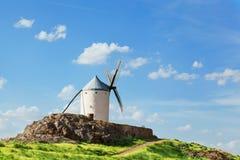 Ancient windmills Stock Photos