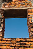 Ancient window. Texture of ancient window thailand Royalty Free Stock Images