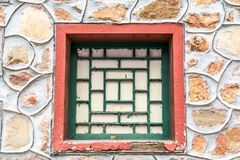 The ancient window Stock Images