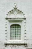 Ancient window with a lattice Royalty Free Stock Photography