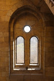 Ancient window at Mohammed Ali Palace - Cairo, Egypt Royalty Free Stock Images