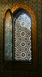 Ancient window at Mohammed Ali Palace - Cairo, Egypt Royalty Free Stock Photo