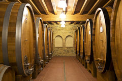 The ancient wine cellar Stock Photo