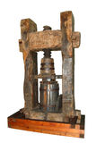 Ancient wine press Royalty Free Stock Images