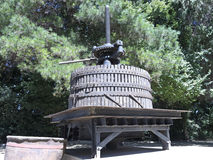 Ancient wine press in Chile. Royalty Free Stock Photography