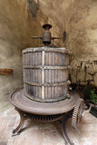 Ancient wine press Royalty Free Stock Photography