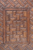 Ancient wood. Hand made ancient wood art Royalty Free Stock Photos