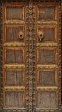 Ancient Wood Door Stock Images