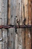 Ancient wood door Royalty Free Stock Photos