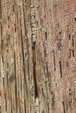Ancient Wood Pillar Texture Stock Image