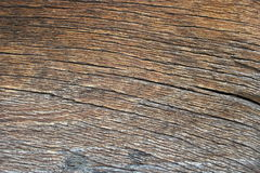 Ancient wood plank textured detail Stock Images
