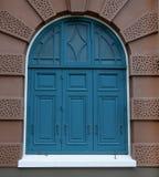 Ancient of wood window Stock Photo
