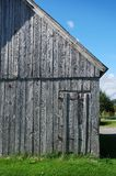 Ancient Wooden Barn In Quebec Canada Royalty Free Stock Images