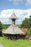 Ancient wooden bell tower Royalty Free Stock Photography