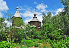 Ancient wooden church in Murom, Russia Royalty Free Stock Image