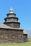 Ancient wooden church Stock Images