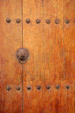 Ancient wooden door Stock Image