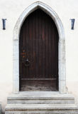 Ancient wooden door Royalty Free Stock Images