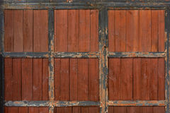 Ancient Wooden Door Stock Images