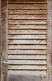 Ancient wooden door Royalty Free Stock Photography