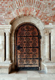 Ancient wooden door Stock Photo