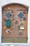 Ancient wooden door Royalty Free Stock Photography