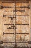 Ancient wooden door Royalty Free Stock Photo