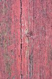 Ancient wooden door red Stock Photo