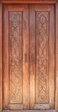 Ancient wooden door Royalty Free Stock Image