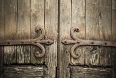 Ancient wooden doors Stock Photo