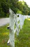 Ancient wooden fence Stock Photos