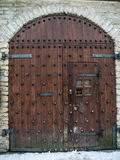 Ancient wooden gate Royalty Free Stock Photography