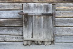 Free Ancient Wooden Hatch With Hasp Stock Image - 162306331