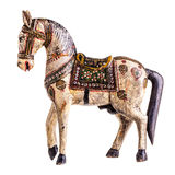 Ancient wooden horse Royalty Free Stock Photo
