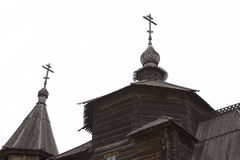 Ancient wooden Orthodox Church, Suzdal, architecture, Russia Royalty Free Stock Photography